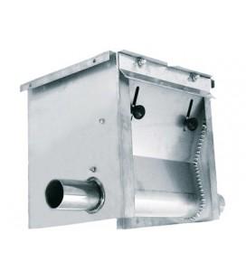Unidad de carga doble Inox.