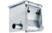 Unidad de carga doble Inox. Material para distribución y alimentación granjas de cerdos