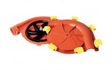 Corner con clips 60 mm diametro Material para distribución y alimentación granjas de cerdos
