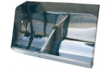 Comedero Inox.agua - pienso (2 pozas) Material para distribución y alimentación granjas de cerdos