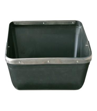 Comedero PP madres 1 poza ( Refuerzo inox. ) Material para distribución y alimentación granjas de cerdos