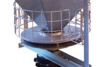 Dispensador de pienso para aves Multimatic Material Granjas Avicolas