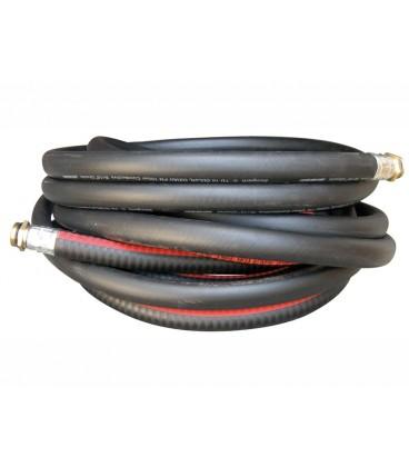 Tuberia Gasoil Negra 19 mm (metro) Racores y Mangueras para Gasoil