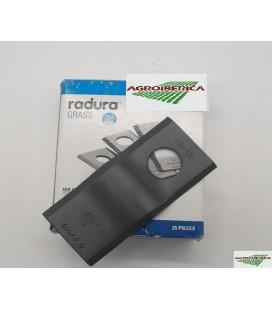 Cuchilla adaptable para Segadora Krone Tipo Lisa
