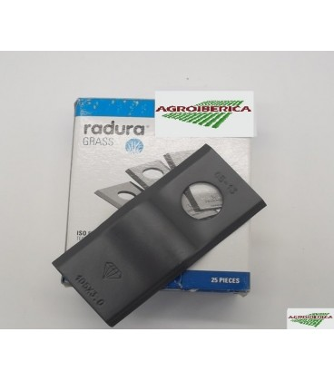 Cuchilla adaptable para Segadora Krone Tipo Lisa Repuestos Segadora Krone