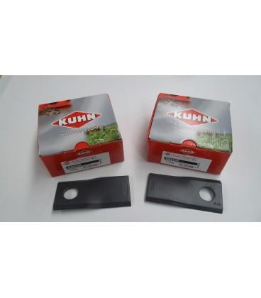 Cuchilla Original de Segadora Kuhn Cuchillas y tornillos Segadora Kuhn
