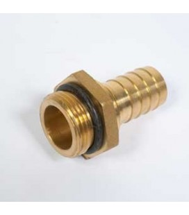 Racor recto roscado macho 1 NPT diam. 25 mm
