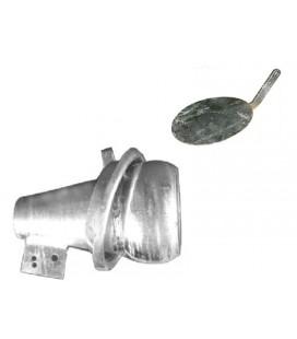 Esparcidor Bola Macho para Cisternas y Cubas de Purin Esparcidores