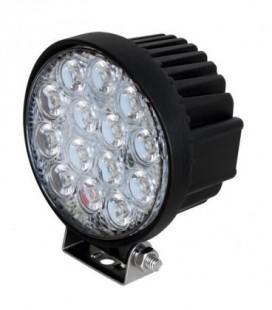 Foco De Trabajo Redondo Led R 42 W Faros, Focos y Barras de Trabajo LED