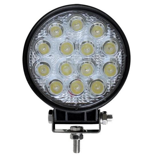 Foco LED de Trabajo Redondo Led R 42 W Faros, Focos y Barras de Trabajo LED
