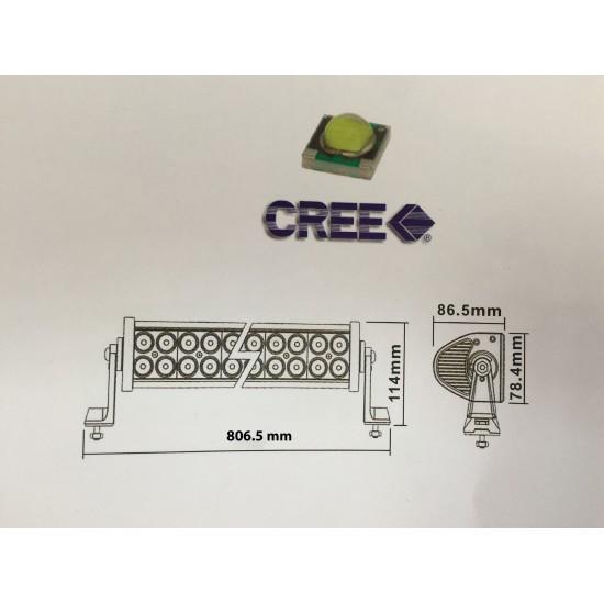 Barra De Trabajo Led 180 W Faros, Focos y Barras de Trabajo LED