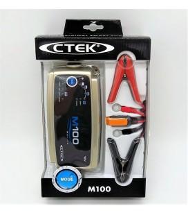 Cargador baterias CTEK M100 de 12V