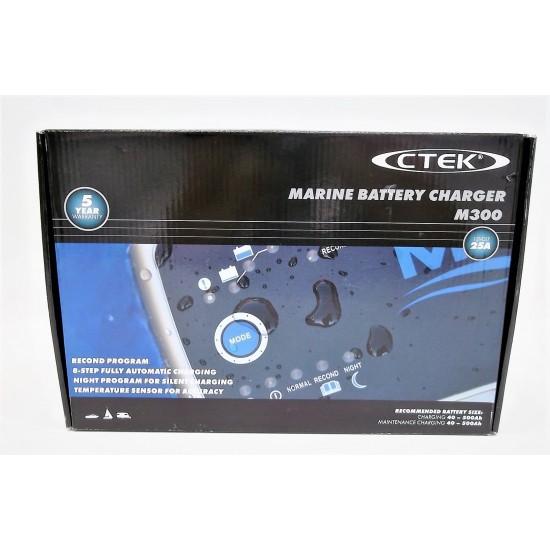 Cargador de bateria Ctek M300 12V-25A Cargadores y Comprobadores de Baterias CTEK