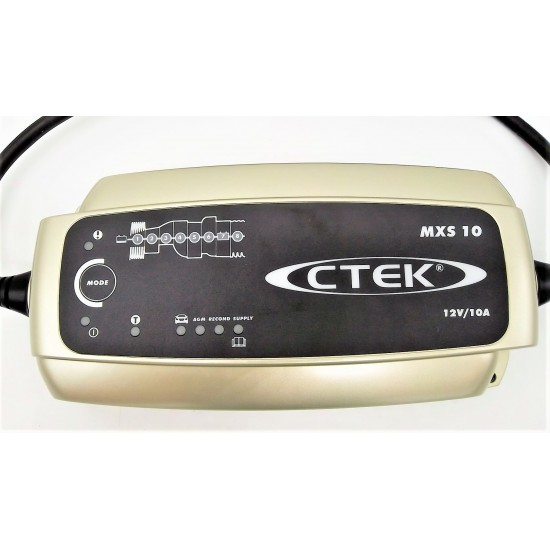 Cargador de bateria Ctek MXS 10 12V Cargadores y Comprobadores de Baterias CTEK