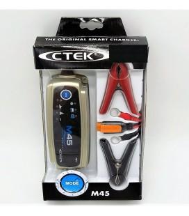 Cargador de bateria Ctek M45 12V-0.8A y 12V-3.6A