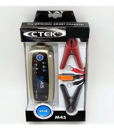 Cargador de bateria Ctek M45 12V-0.8A y 12V-3.6A Cargadores y Comprobadores de Baterias CTEK