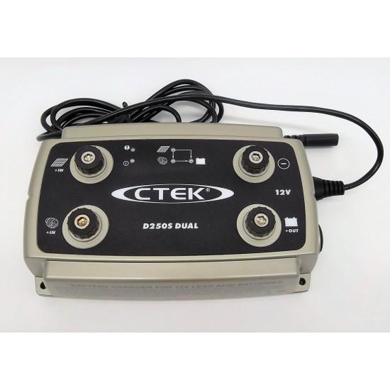 Cargador de bateria Ctek D250S DUAL 12V-20A Cargadores y Comprobadores de Baterias CTEK
