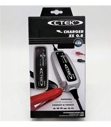 Cargador de bateria Ctek XS 0.8 12V Cargadores y Comprobadores de Baterias CTEK