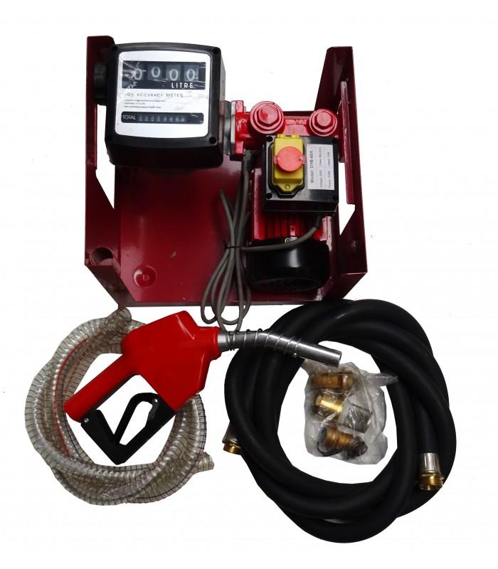 Bomba de gasoil para trasvase y trasiego de combustibles for Bomba de gasoil electrica
