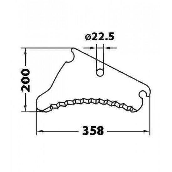 Cuchilla Adaptable de Empacadora y Rotoempacadora John Deere Cuchillas Adaptables para Autocargadores, Empacadoras y Rotoempa...