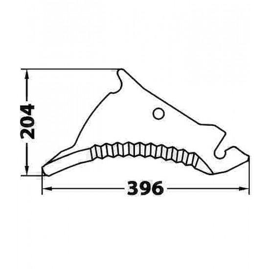 Cuchilla Adaptable para Empacadora y Rotoempacadora Kuhn Cuchillas Adaptables para Autocargadores, Empacadoras y Rotoempacadoras