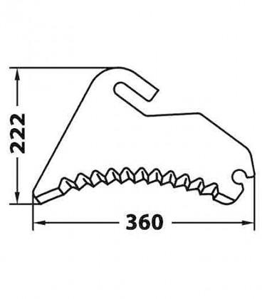 Cuchillas Adaptables para Empacadoras y Rotoempacadoras Mchale Cuchillas Adaptables para Autocargadores, Empacadoras y Rotoem...