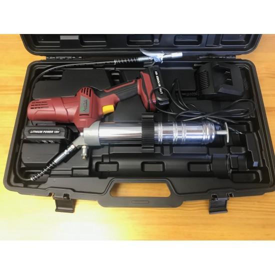 Engrasadora Electrica a Baterias de 18 V Lubricantes, Grasas y Accesorios