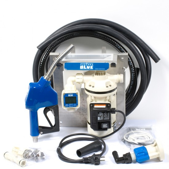 Kit de Bomba de Trasiego de Adblue con Pistola Automatica y Contador Digital Bombas para el Trasiego del Adblue-Urea