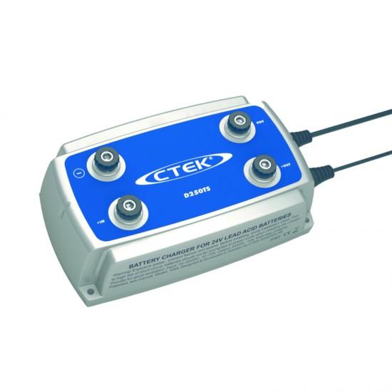 Cargador de bateria Ctek D250TS 24V-10A Cargadores y Comprobadores de Baterias CTEK