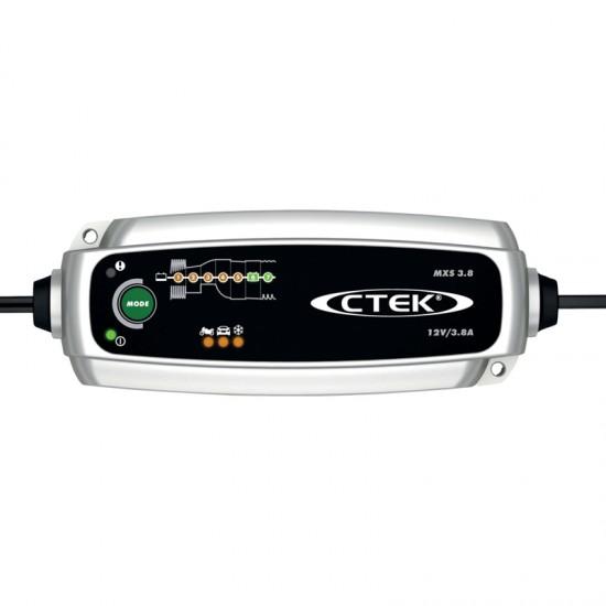 Cargador de bateria Ctek MXS 3.8 12V Cargadores y Comprobadores de Baterias CTEK