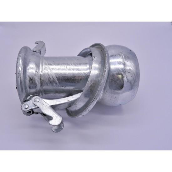 Reduccion de Macho 150 mm a Hembra 125 mm Enlaces a Manguera