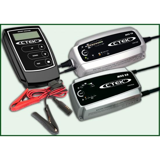 Cargadores y Comprobadores de Baterias CTEK