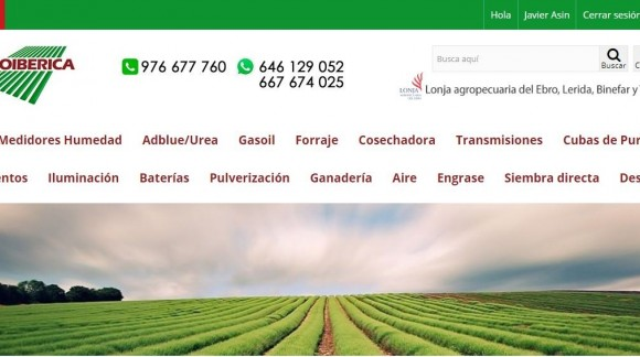 Agroiberica, tu nueva página web para repuestos agrícolas, maquinaria agrícola y ganadera