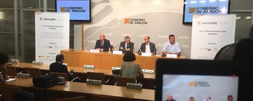 Zaragoza en el Foro DATAGRI se convertirá en la capital de la Agricultura 4.0