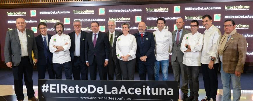 Planas anima a emprender acciones para incorporar la aceituna de mesa a la cocina y apostar por la innovación.